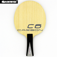 SANWEI C6 LD Table Tennis Blade all around KOTO surface 5 plywood+ 2 carbon fiber quick attack loop ping pong racket bat paddle