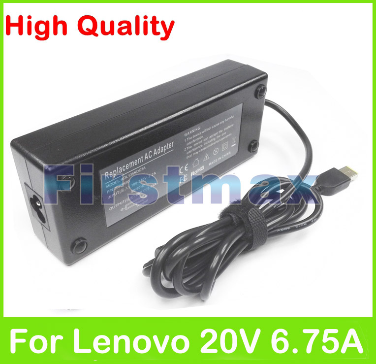 Prix pour Pour Lenovo Chargeur 20 V 6.75A 135 W Laptop Ac Adaptateur Y40 Y40-70AT Y40-80AT Y50 Y50-70 Tactile ADL135NDC3A 36200605 45N0361 45N0501