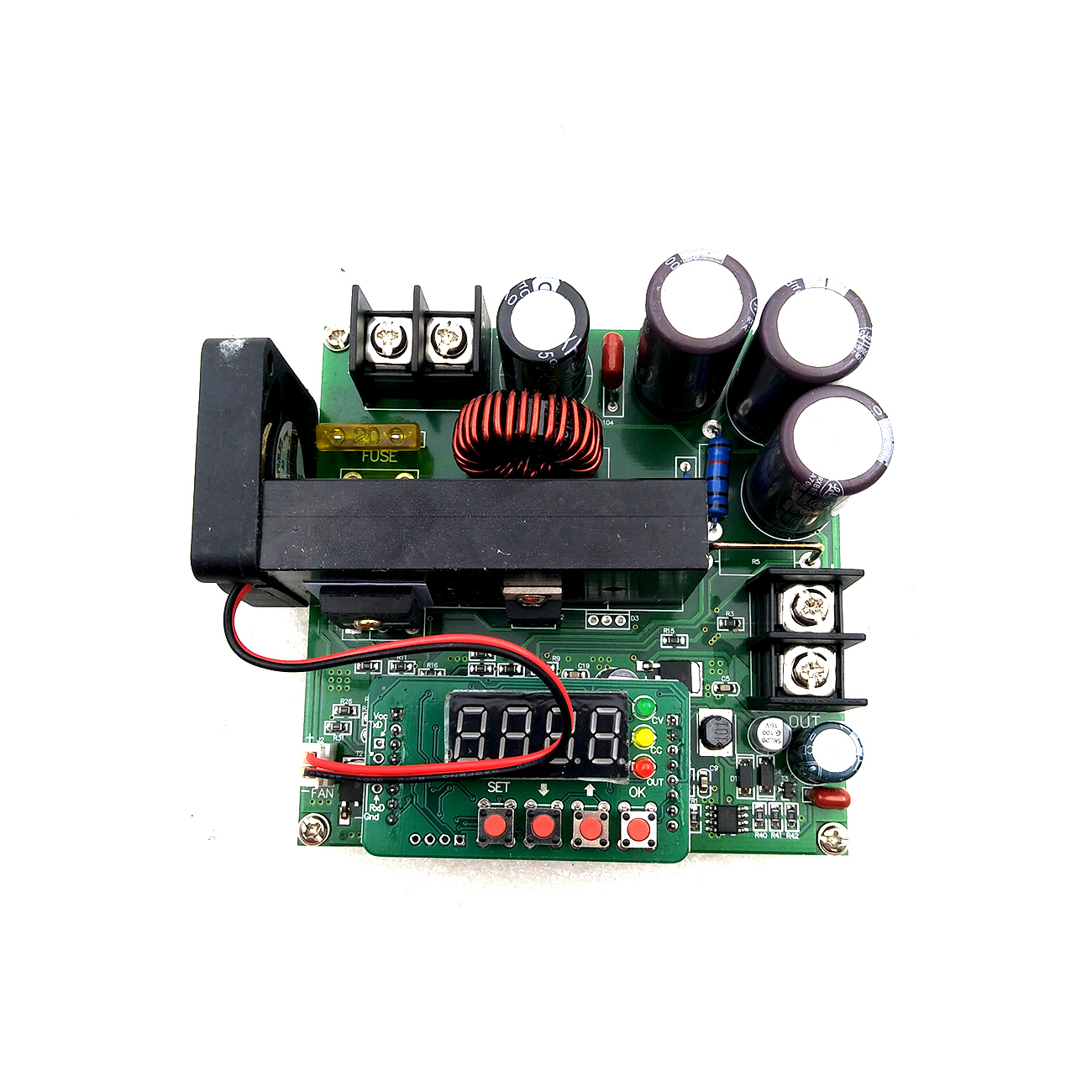 Image 5 - 5pcs/lot B900W adjustable impulse module Current Transformer Voltage Regulator Module Input Constant 8 60v to 10 120v 900w-in Integrated Circuits from Electronic Components & Supplies