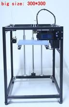 ifancybox 3 XXL dual 2017 big size DIY corexy 3d printer Kit linear guide aluminum Frame dual color extruder 3d printer