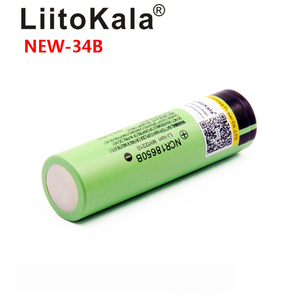 Image 5 - LiitoKala بطارية ليثيوم قابلة لإعادة الشحن ، مصباح يدوي ، NCR18650B 34B 3.7V 18650 3400mAh