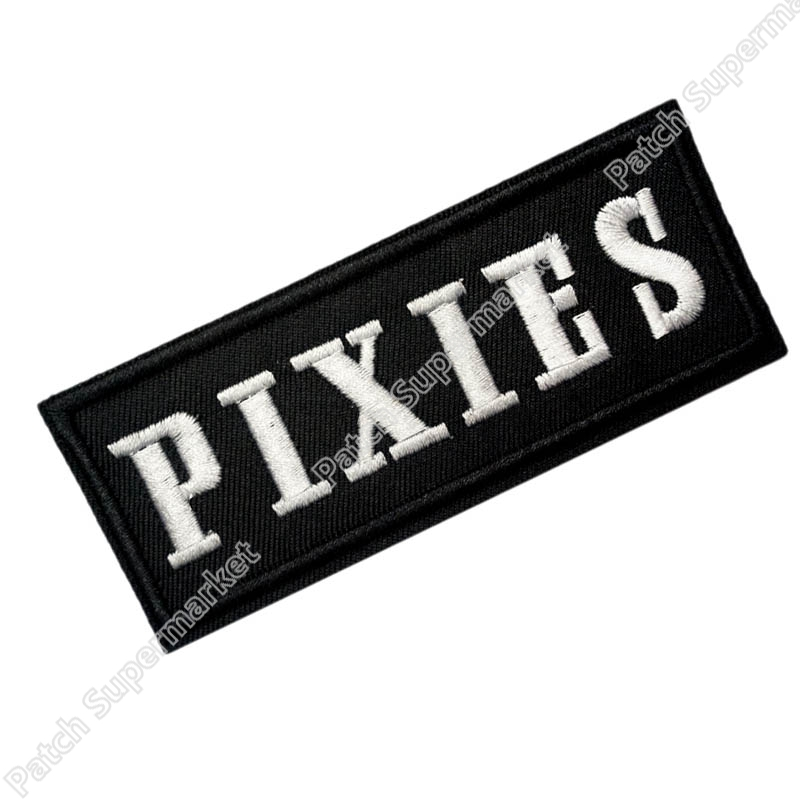 PIXIES Music Band Iron On Sew On Patch Tshirt TRANSFER MOTIF APPLIQUE Rock Punk Badge Wholesale