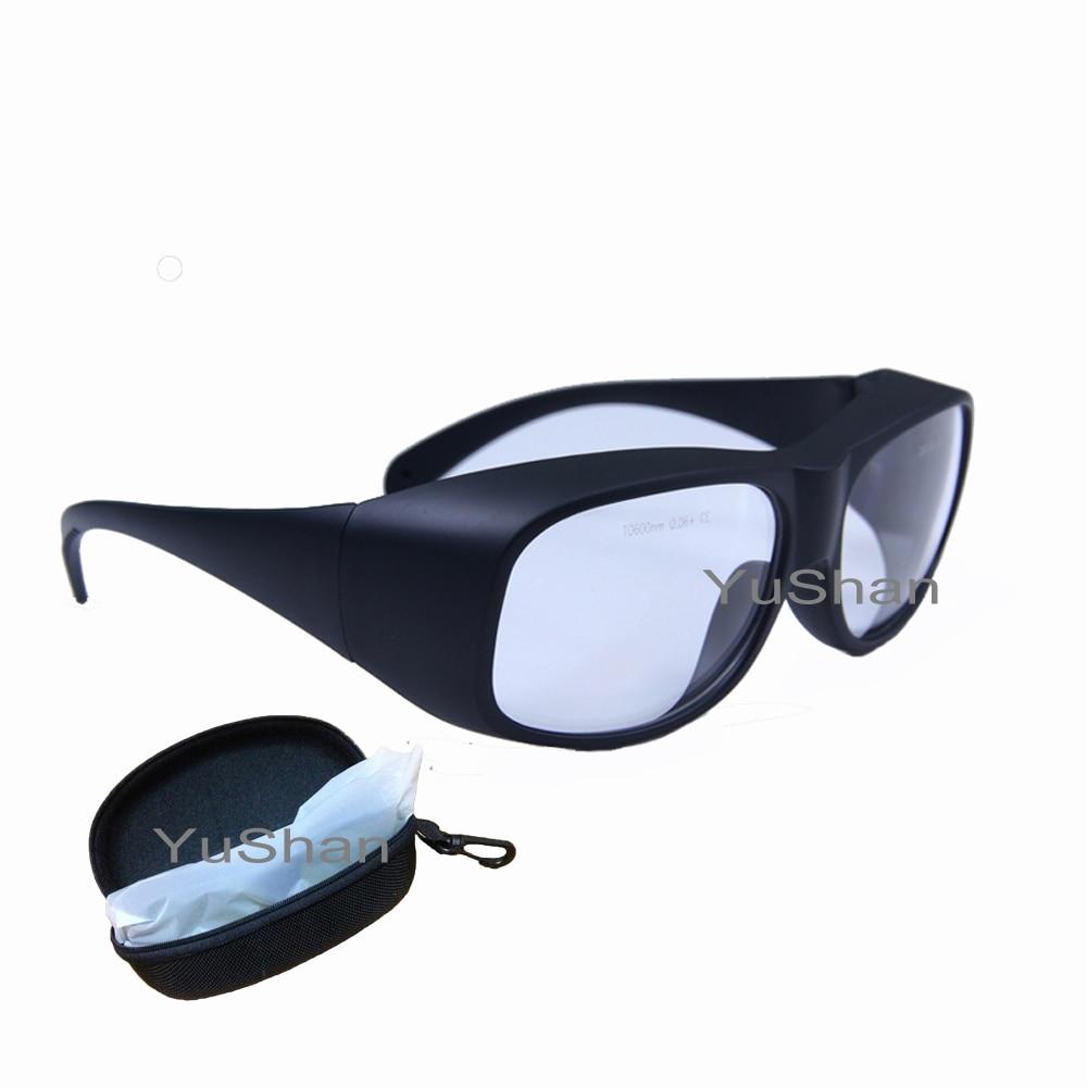 Óculos de proteção a laser de CO2 Óculos de segurança a laser