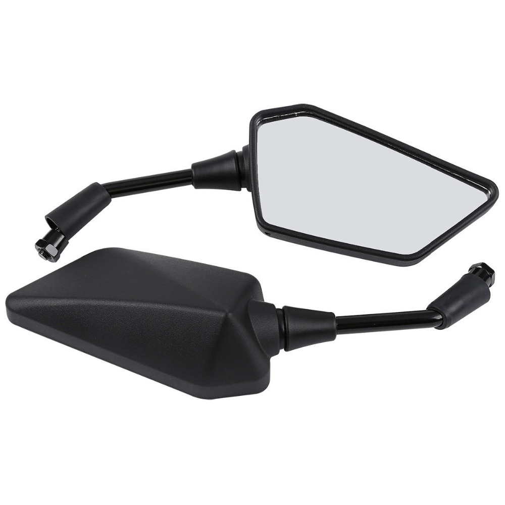 Motorcycle Accessories Rear View Mirrors For Kawasaki ER400 ER 4N 2011 2013 ER300 Z300 2015 2016 ER250 Z250 2013 2015-in Side Mirrors & Accessories from Automobiles & Motorcycles
