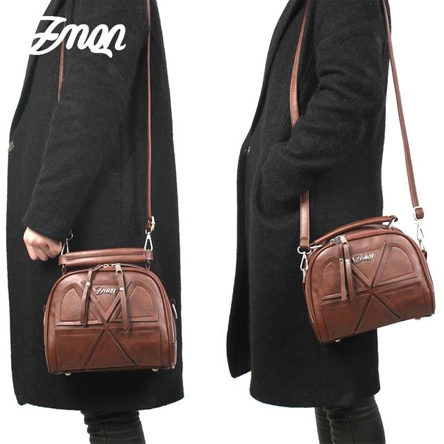 ZMQN Small PU Leather Handbags 5
