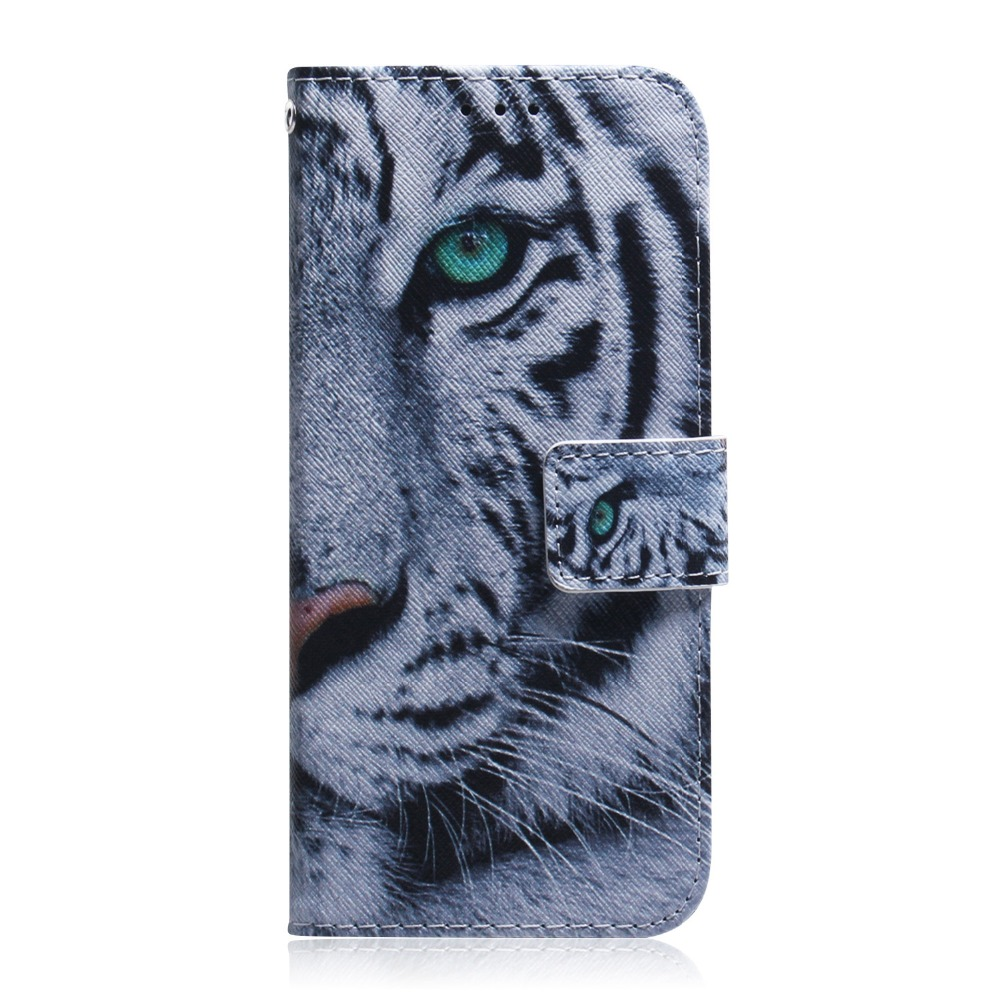 PU Leather Wallet Cover Case For Samsung Galaxy J4 Plus Coque Flip Soft Silicone SmartPhone Etui Bag For Galaxy J4 Funda Case in Flip Cases from Cellphones Telecommunications