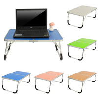 Portable Laptop Desk Table Stand Holder Adjustable Folding Lapdesk Bed Sofa Tray Notebook Computer Desk Camping