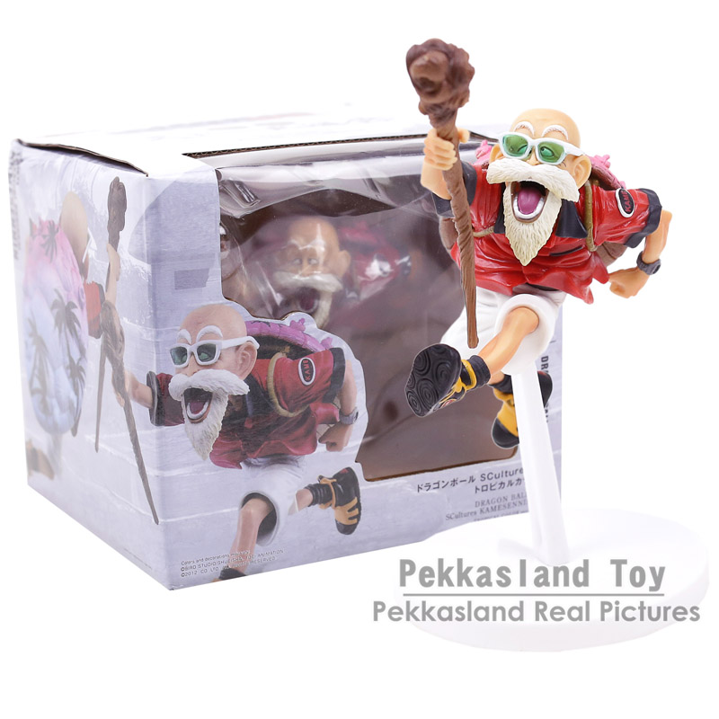 Anime Dragon Ball Z Scultures Kame Sennin / Master Roshi PVC Figure Collectible Model Kids Toys Doll худи print bar log lady coffee
