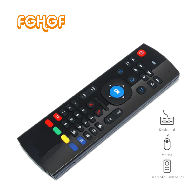 3 in 1 Multi-function TZ MX3 2.4GHz Air Mouse Wireless Keyboard Infrared Universal Remote Control For Smart TV TV Box PC