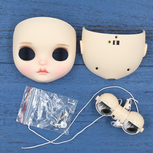 Neo Blythe Doll Face Matte Face Plate & Screws