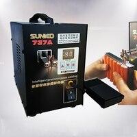 220V / 110v Multiple pulse precision battery spot welder /pedal switch Welding Machine/ LED lighting type