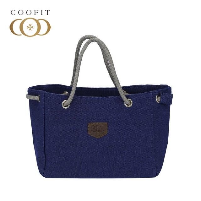 coofit woman obag handbags rope strap design female large capacity
