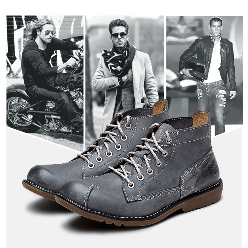 ФОТО 4 Color Comfy Casual Genuine Leather Formal Dress Oxfords Mens Chukka Ankle Boots Winter Super Warm Plush Shoes