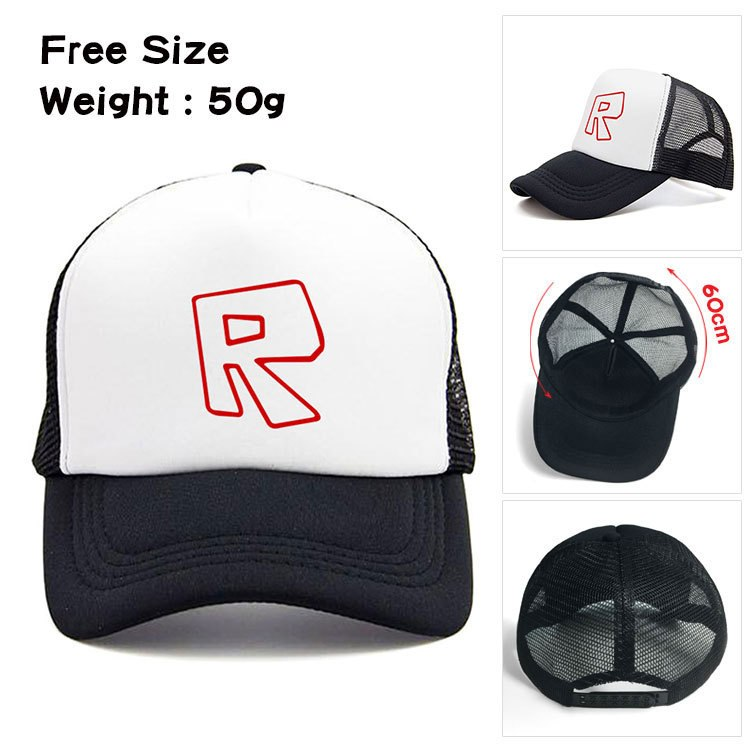 Kids Boys Roblox Caps Cartoon Basketball Hat Cool Summer Girls Caps Mesh  Net Adjustable Sport Caps Hat For Children s Gifts-in Hats   Caps from  Mother ... b27caabaea8