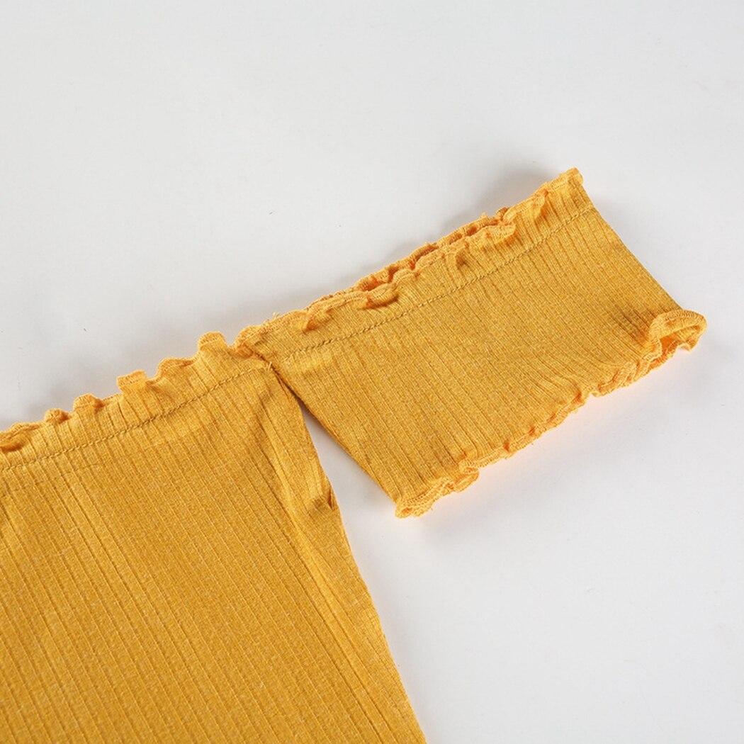 HTB12HiMhKuSBuNjy1Xcq6AYjFXaP - FREE SHIPPING Yellow Off Shoulder Short Sleeve T-Shirt JKP407