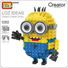 LoZ мини блоки Джерри модель DIY Игрушка Криэйтор фильм здания фигурки статуэтки кирпичи Фильм модель DIY детские игрушки для мальчиков 1203