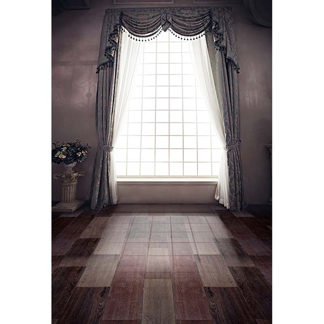 20ft Vinyl Cloth Print 3 D Curtains Window Room Wallpaper Photo Studio  Background For Wedding Photography Backdrops CM 7163