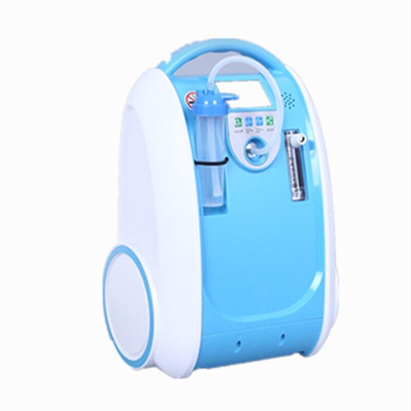 Recentes 5L COXTOD concentrador de oxigênio portátil para casa/carro/viagem