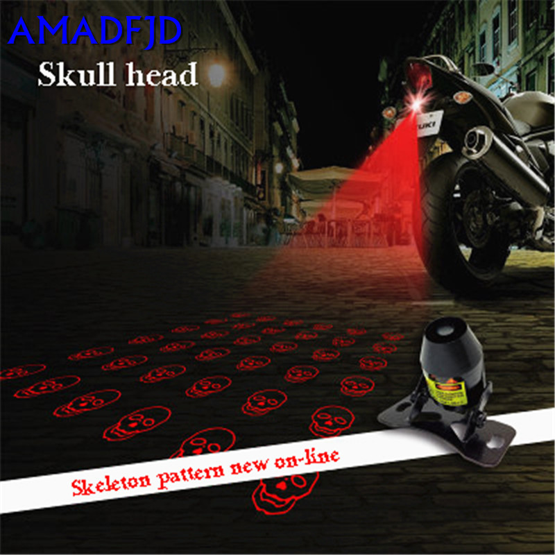 LED decorative lights motorcycle modified accessories lights laser spotlights anti-rear warning warning lights brake lights tail xuankun off road motorcycle modified led taillights turn lights brake lights license plate tail lighthouse