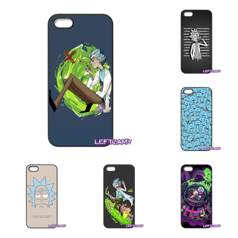 Rick and morty Hard Phone Case Cover For iPhone 4 4S 5 5C SE 6 6S 7 8 Plus X 4.7 5.5 iPod Touch 4 5 6