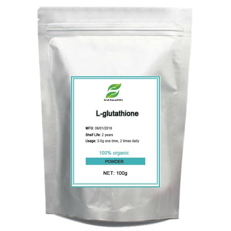 цена на 100g High quality L-Glutathione Injection grade Glutathione 99%, free shipping Anti-Aging Anti tumor