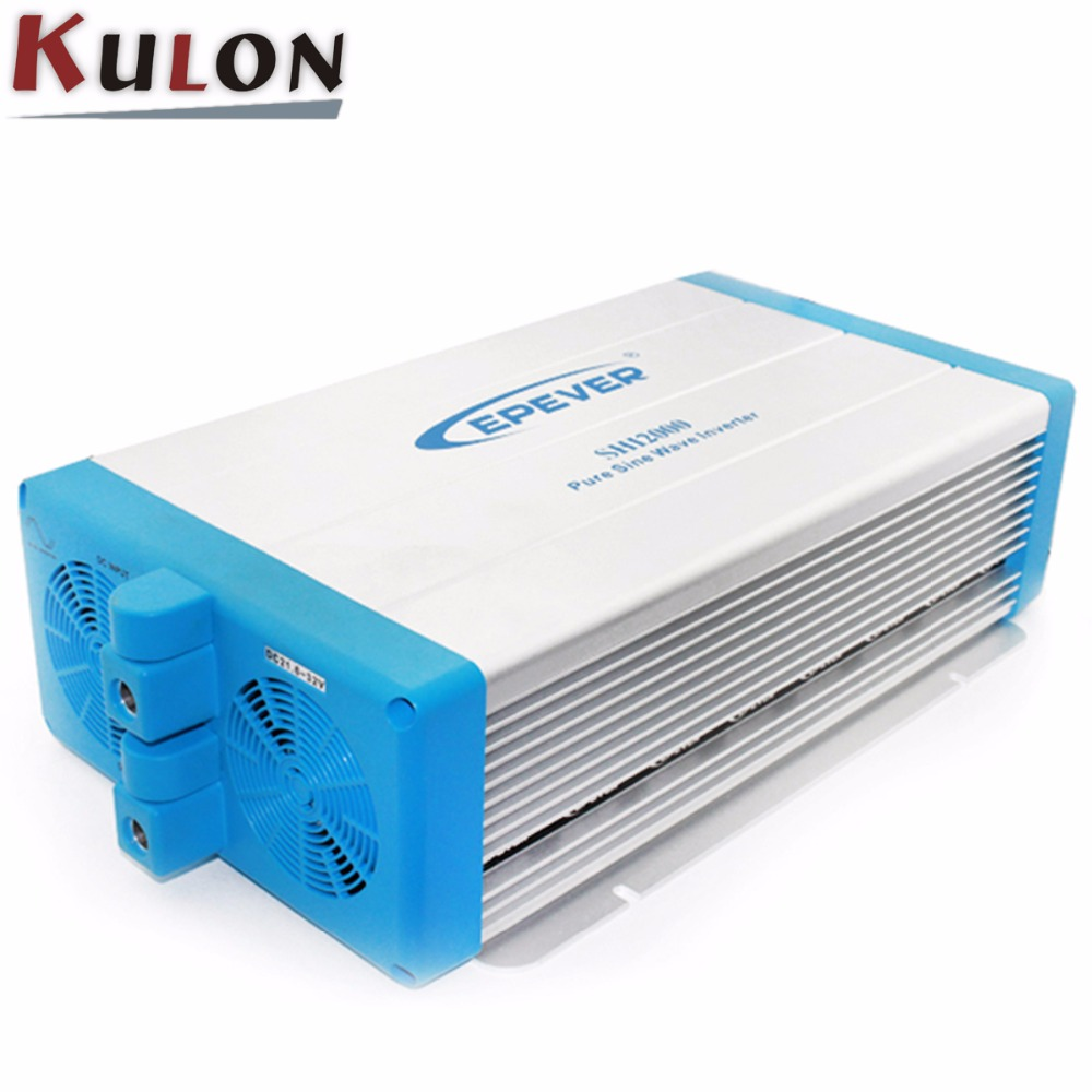 EPEVER Pure Sine Wave Inverter SHI2000 2000W 24V 48V solar home system dc to ac 220V 330V Off Grid PV grid inver 48v 2000w off grid inverter pure sine wave epsolar shi2000 42 with optional energy saving mode for household appliances new