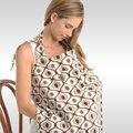 Tampas De Enfermagem do bebê para Mulheres Lactantes Mãe Enfermeira Vestindo com Pacote e Almofadas de Mama Algodão-Alimentação Covers