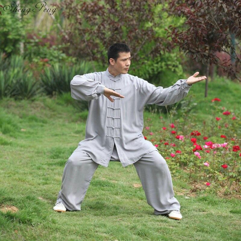 Kung fu clothes wushu kung fu costume tai chi chuan uniform traditional chinese men  tai ji clothing oriental men clothes  V709