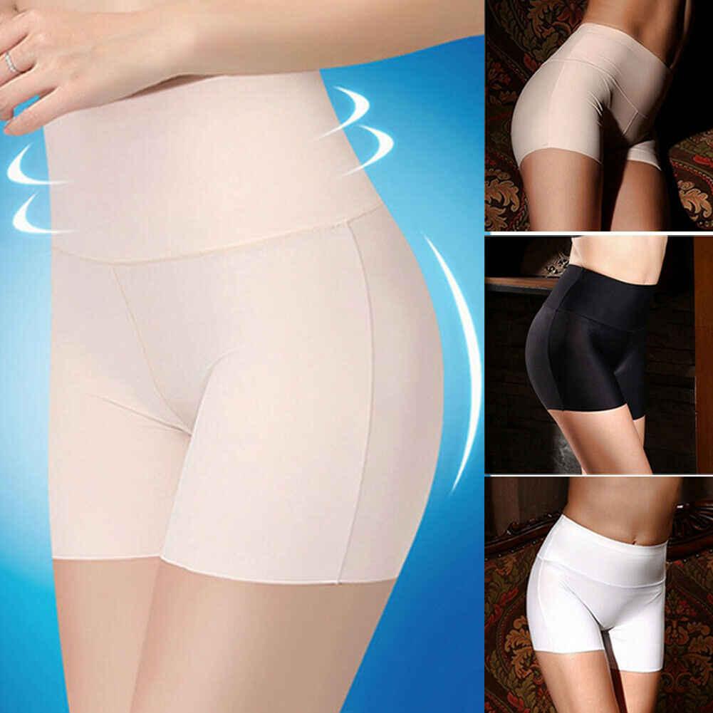 Neue Frauen Weiche Baumwolle Nahtlose Sicherheit Hohe Taille Kurzen Hosen Heißer Verkauf Weibliche Sommer Unter Rock Shorts Atmungs Strumpfhosen