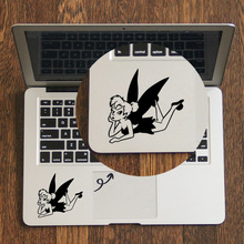 Peter Pan Little Fairy Laptop Trackpad Sticker for Apple Macbook Decal Pro Air Retina 11 12 13 14 15 inch Mac Book Touchpad Skin