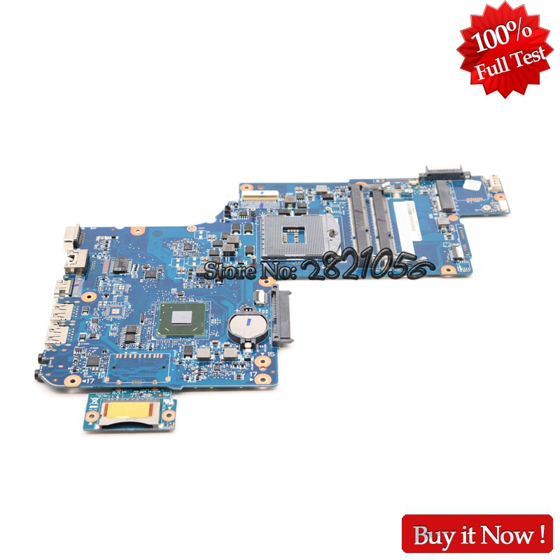 NOKOTION New laptop motherboard For toshiba satellite C870 C875 L870 H000046310 17.3 inch HD4000 HM76 warranty 60 days Full Test nokotion new h000052840 for toshiba satellite c870 l870 l875 laptop motherboard pga988b slj8e hm76 ddr3 hd7610m video card
