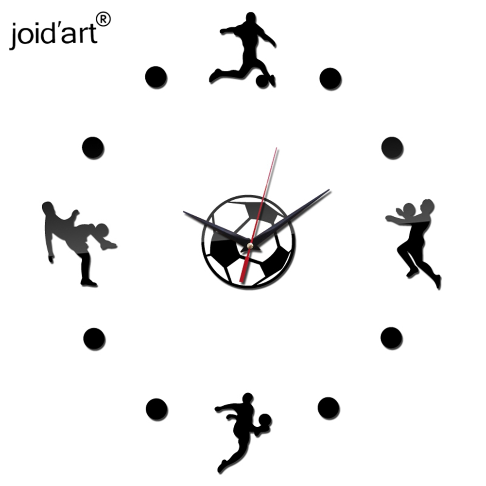Real 2016 new arrival wall clock watch clocks diy home decoration real 2016 new arrival wall clock watch clocks diy home decoration fashion sport acrylic mirror the stickers living room hot sale in wall clocks from home amipublicfo Gallery
