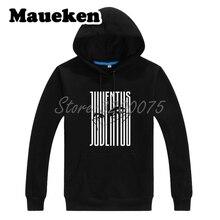 Men Hoodies Paulo Dybala 10 Zebra Stripe Logo Sweatshirts Hooded Thick for  fans gift Autumn Winter W18071105