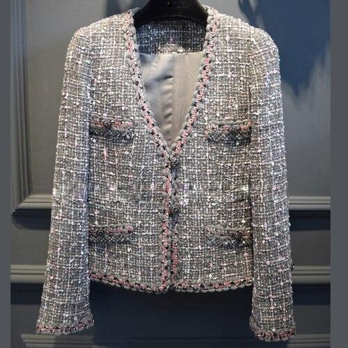 2016 femmes d'hiver manteau, mode tweed casaco feminino, élégant abrigos mujer, femmes incroyable veste, distinctif laine bureau vêtements