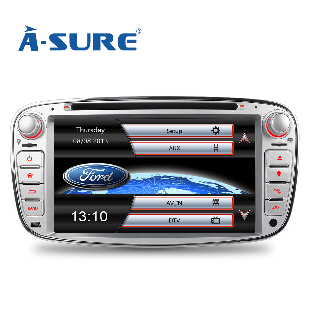 a sure 7 car radio player gps for ford mondeo focus. Black Bedroom Furniture Sets. Home Design Ideas