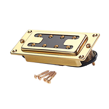 4 String Bass Guitar Humbucker Double Coil Pickup With Mounting Screws for Les Paul Replacement Accessories