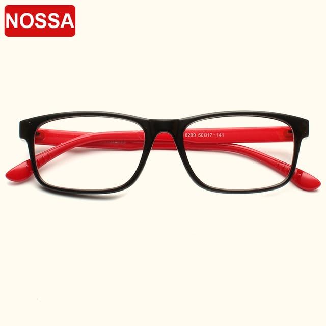 857983a3fb9 NOSSA Excellent Ultralight Optical Frames Male Female Myopia Clear Lens Spectacles  Women Men Elegant Eyewear Frame Retro Glasses