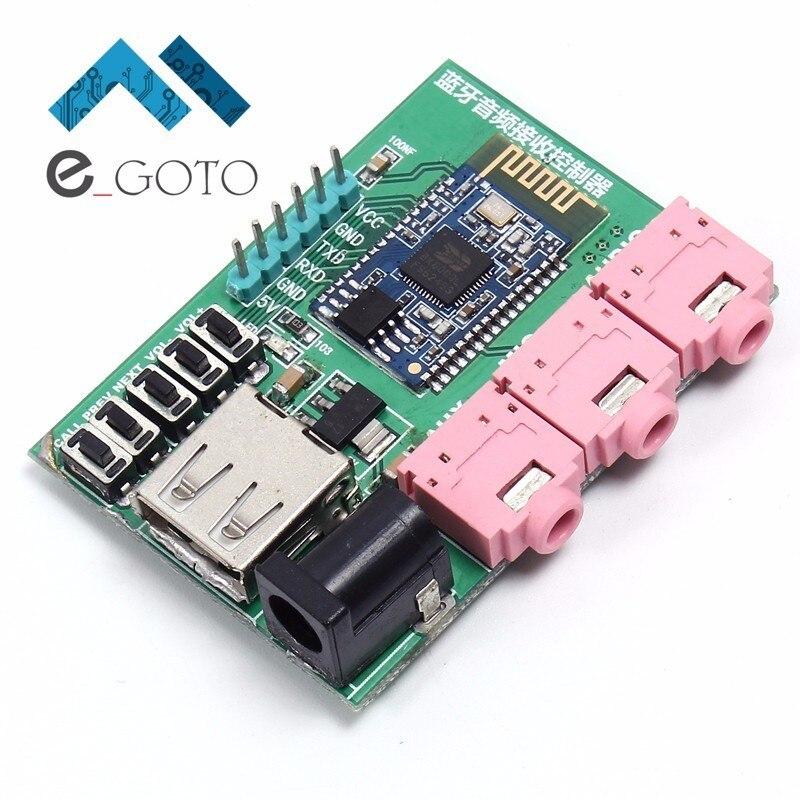 2.4 ГГц Беспроводной <font><b>Bluetooth</b></font> V2.1 Стерео Аудио приемник модуль цифровой Усилители домашние SBC декодер совета USB Интерфейс класса 2 4dBm 60ma