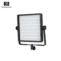 Portable Bi Color LED Light 600led Studio Photographic Lighting Panel 3200K 5600K for Photo Video Studio+Light Bag