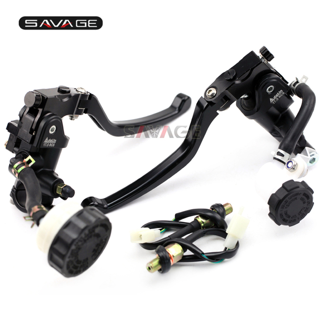 US $154 99 10% OFF|Brake Clutch Pump Lever Radial Master Cylinder For  DUCATI Streetfighter 848/1100/1100S X Diavel GT1000 Hydraulic Reservoir Set  -in
