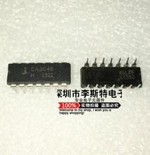 Send free 10PCS CA3046  DIP-14   New original hot selling electronic integrated circuits