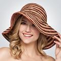 Королева Hat Розовый Красный Коричневый Разноцветные Большой Брим Floppy Рафи Соломенная Шляпка Cap Женщины Летние Шляпы От Солнца, Девушки