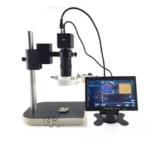 Wholesale prices HD Phone Motherboard Repairing Electronic Digital Microscope Eyepiece LED Light Illuminant Industrial Camera with 7 Inch Screen