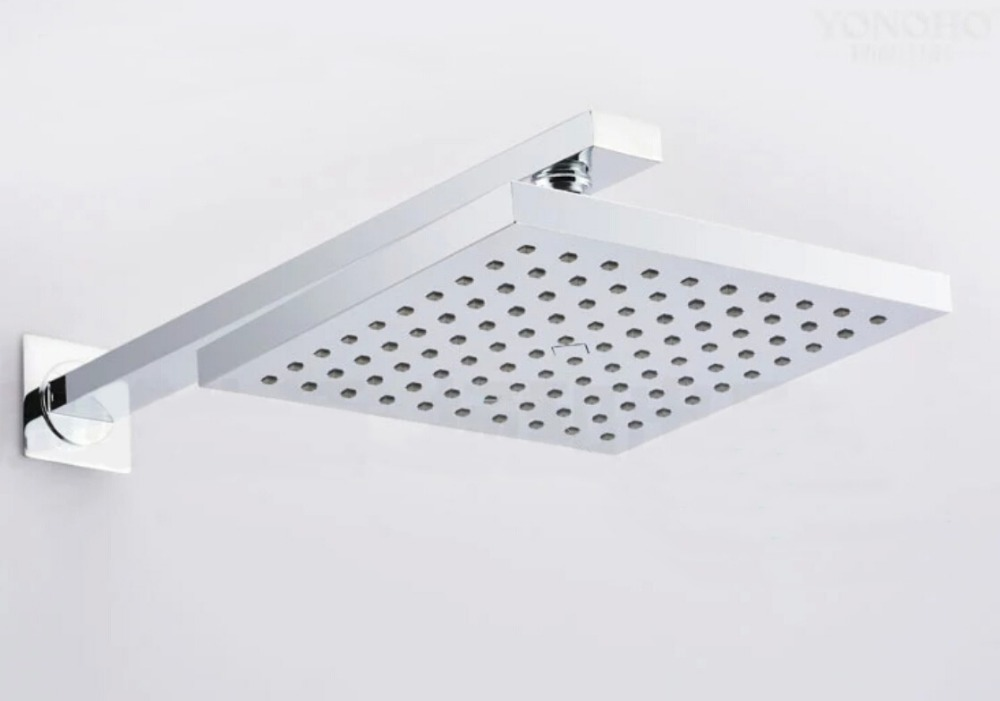 Free Shipping Wholesale And Retail ABS 8 Inch Rain Shower Head Top Sprayer With stainless steel