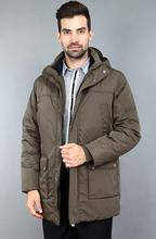 Hot Sale One Thick Cotton Filling Feather Coat Coat Warm Winter Jacket Cover Middle-aged Men To The Size Of The Winter Jacket