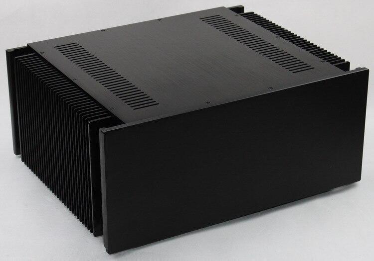 Amplificateur châssis WA107 boîtier en aluminium 390*480*210 MM amp cas