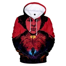 New StrangerThingsTV Mens Hoodie 3D Print Cool Tops Popular Casual Sports