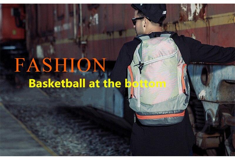 bola de futebol portátil saco de futebol net saco de fitness
