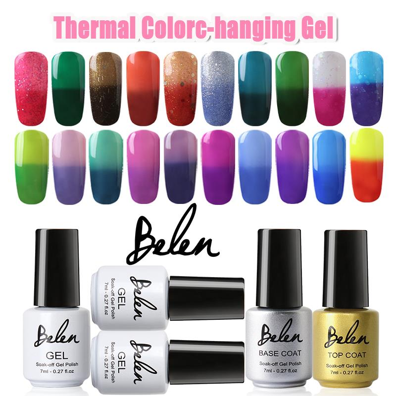 belen uv gel nail polish paint that changes color top base vernis gel uv gelpolish vernis semi. Black Bedroom Furniture Sets. Home Design Ideas