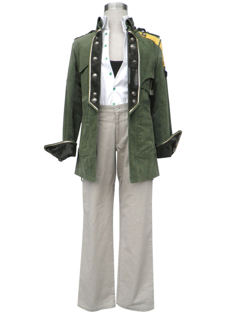 Final Fantasy XIII Cosplay Costume Sazh Katzroy any size